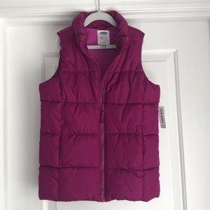Old Navy girls vest. Size 10/12